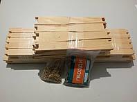 Набор рамка Рута (заготовка) + втулки и гвозди
