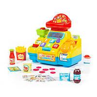 Игрушка развивающая Кассовый аппарат для супермаркета, Polesie 77073