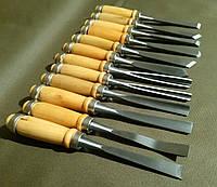 Набор резцов для резьбы по дереву 12 шт. в чехле