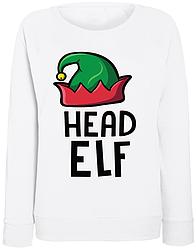 Женский свитшот Head Elf (белый)
