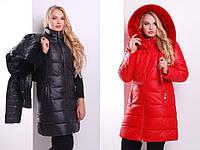 Куртка женская зима большие размеры, фото 1
