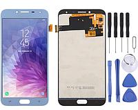 LCD дисплей, модуль, екран Galaxy J4 (2018) J400F / DS, J400G / DS (синій)