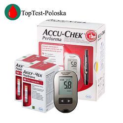 Глюкометр «Акку Чек Перформа» Accu Chek Performa + 100 тест-полосок
