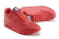 Кроссовки мужские Nike Air Max 90 Hyperfuse D55 красные