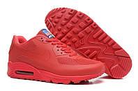 Кроссовки женские Nike Air Max 90 Hyperfuse D357 красные