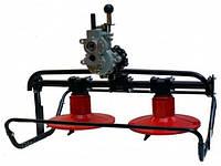 Навеска-косилка роторная редукторная для мотоблока FORTE (с водяным охлаждением)