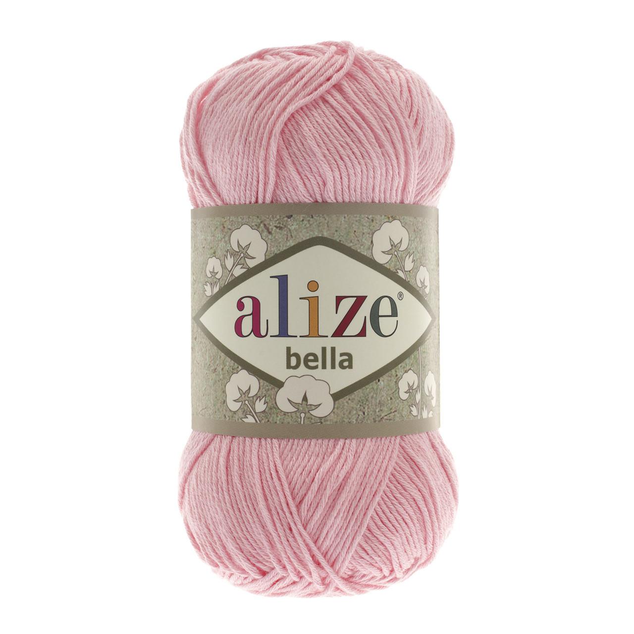 Пряжа Ализе Белла Alize Bella, цвет №32 розовый