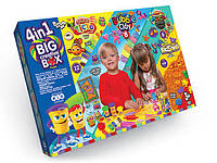 "Детский набор креативного творчества ""4в1 BIG CREATIVE BOX"" укр, Danko Toys"