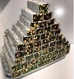 Рахат лукум GANIK премиум натуральный  с фисташковым орехом  500 гр , ассорти ( роза, гранат, абрикос, киви),, фото 3