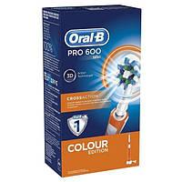 Электрическая аккумуляторная зубная щетка Oral-B PRO 600 (D16.513), фото 1