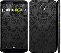 """Чехол на Motorola Nexus 6 узор черный """"1612c-67"""""""
