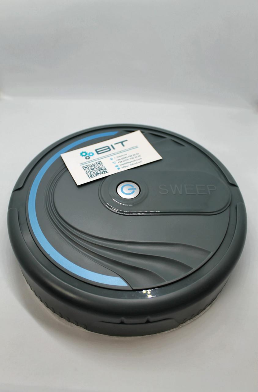 Умный робот пылесос для уборки шерсти и пыли DL-46 Clean Robot