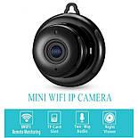 Мини wifi камера IP Konlen KL-Q2, беспроводная, 1 Мп, 720P, SD карта до 128 Гб, фото 4