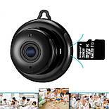 Мини wifi камера IP Konlen KL-Q2, беспроводная, 1 Мп, 720P, SD карта до 128 Гб, фото 6