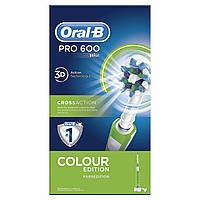 Электрическая аккумуляторная зубная щетка Oral-B PRO 600 (D16.513)