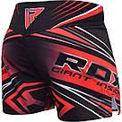 Шорты MMA RDX R8 Red XL, фото 2