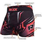 Шорты MMA RDX R8 Red XL, фото 3