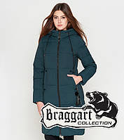 Braggart Youth   Удлиненная женская куртка 25205 бирюза