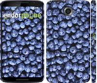 """Чехол на Motorola Nexus 6 Черника """"851c-67"""""""