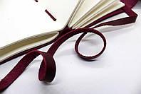 Кожаный блокнот ручной работы COMFY STRAP А5 женский бордовый, фото 4