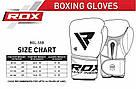 Боксерские перчатки RDX Pro Gel S5 16 ун., фото 9