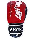 Боксерские перчатки V`Noks Lotta Red 8 ун., фото 6