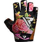 Перчатки для фитнеса женские RDX F24 Black S, фото 2