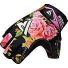 Перчатки для фитнеса женские RDX F24 Black S, фото 5