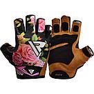 Перчатки для фитнеса женские RDX F24 Black S, фото 6