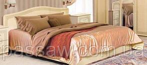 Кровать с ортопедическим каркасом  Флоренция 1,6 св.венге глянец