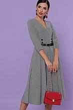 GLEM сіра сукня міді Киана д/р S
