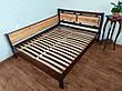 """Двоспальне ліжко з дерева з висувними ящиками """"Магія Дерева Преміум"""", фото 4"""