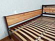 """Двоспальне ліжко з дерева з висувними ящиками """"Магія Дерева Преміум"""", фото 5"""