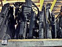 Радиатор  кондиционера+электровентиляторы  VITO  W-639 б/у W-639