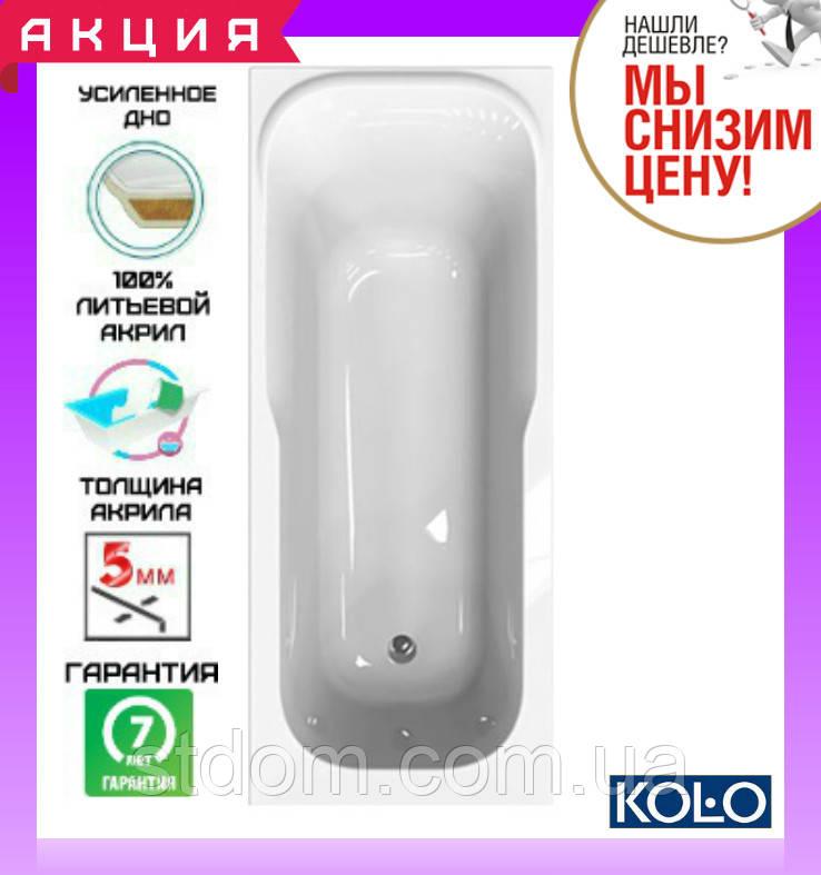 Прямоугольная ванна 140x70 см Kolo Sensa XWP354000N