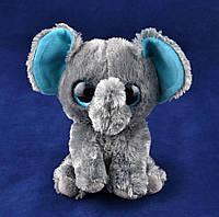 Мягкие игрушки Глазастый Зоопарк Слоненок (14 см) №96025