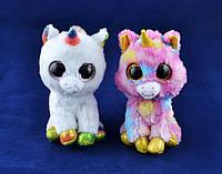 Мягкие игрушки Глазастый Зоопарк Единорог (14 см) №96025