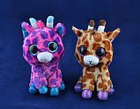 Мягкие игрушки Глазастый Зоопарк Жираф (14 см) №96025