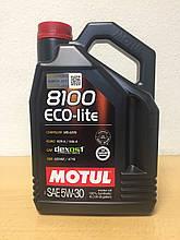 Масло Motul 8100 Eco-Lite 5W-30 4л (107251/108213)
