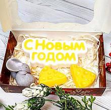 Мыло ручной работы Мышка Новый год