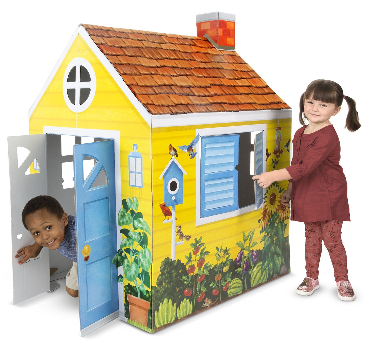 Картонный загородный коттедж Melissa & Doug (MD5509)