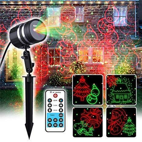 Лазерный проектор Star Shower RG12 с пультом