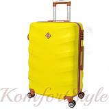 Набор дорожных чемоданов Bonro Next 3 штуки желтый (10642307), фото 3