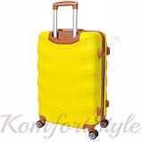 Набор дорожных чемоданов Bonro Next 3 штуки желтый (10642307), фото 4