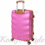 Набор дорожных чемоданов Bonro Next 3 штуки розовый (10642306), фото 4
