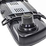 """Автомобильное зеркало видеорегистратор Lesko 10"""" Car K62 камера 12Мп функция WDR ночная съемка камера заднего, фото 8"""