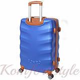 Набор дорожных чемоданов Bonro Next 3 штуки синий (10642301), фото 4
