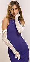Ажурні рукавички довгі, фото 1