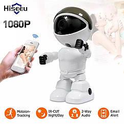 Hiseeu Robot 1080 P. WiFi IP камера с автоматическим слежением . YCC365 Plus