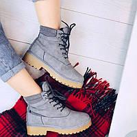 Модные ботинки тимберленды, фото 1